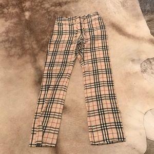 Burberry 100% linen pants